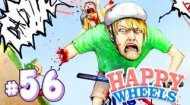 WALKING IN HAPPY WHEELS!