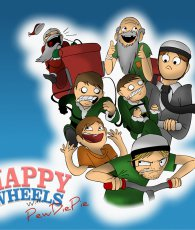 Happy Wheels With PewDiePie